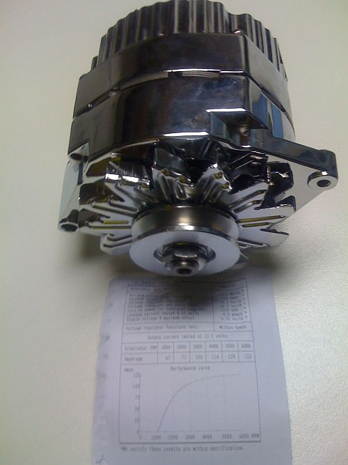 Alternator 100amp - Wiring  - Electrical