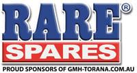 Rare Spares Sponsors GMH-Torana.com.au